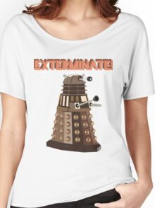 Dalek Exterminate! Women's Relaxed Fit T-Shirt