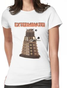 Dalek Exterminate! Womens Fitted T-Shirt