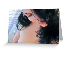 Summer Love - Self Portrait Greeting Card