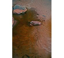 Pool in Sand Photographic Print