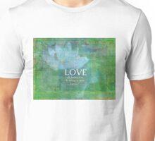 Shakespeare love quote  Unisex T-Shirt