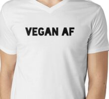 Vegan AF Mens V-Neck T-Shirt