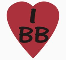 I Love BB - Country Code Barbados T-Shirt & Sticker by deanworld