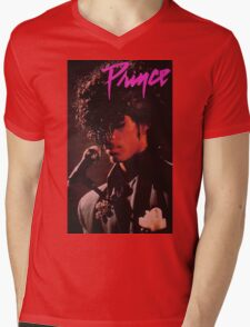 PRINCE Mens V-Neck T-Shirt