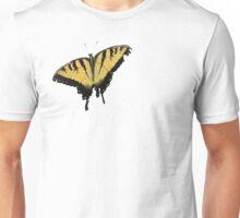 Tiger Swallowtail Butterfly - Pop Art style halftone Unisex T-Shirt
