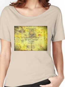 Shakespeare romantic love quote  Women's Relaxed Fit T-Shirt