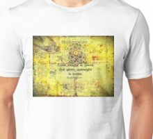 Shakespeare romantic love quote  Unisex T-Shirt