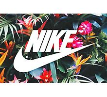 Tumblr Tropical Nike  Photographic Print