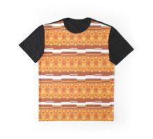 Pokeball- Orange Graphic T-Shirt