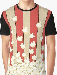Popcorn Pop Art Graphic T-Shirt