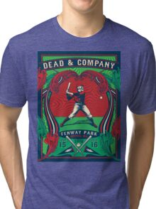 DEAD AND COMPANY SUMMER TOUR 2016 FENWAY PARK-BOSTON,MA Tri-blend T-Shirt