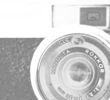 Vintage Minolta Sticker