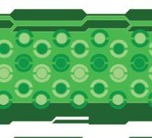 Pokeball- Green Sticker