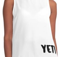 Yeti: The Abominable Snowman Contrast Tank