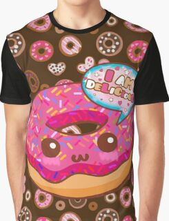 Donut Delicious Graphic T-Shirt