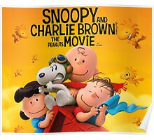 PEANUTS SNOOPY AND CHARLIE BROWN Poster