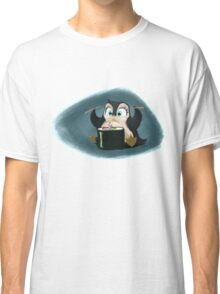 Penguin with sushi cake Classic T-Shirt