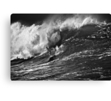 Andy Irons At 2009 Quiksilver in Memory of Eddie Aikau Contest 2 Canvas Print