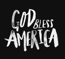 God Bless America x Navy Kids Tee