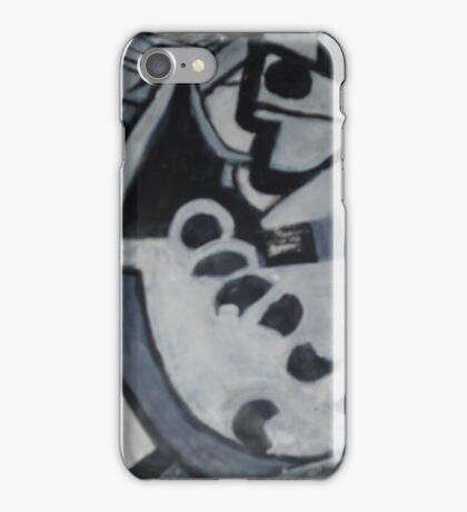 Pirate BW iPhone Case/Skin