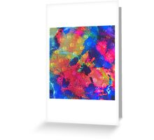 Color Happy Greeting Card