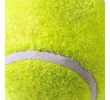 MAN CAVE THROW PILLOW SERIES  - TENNIS BALL Photographic Print