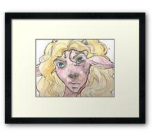Fawn Boy Framed Print