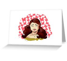 Belle Graphic Greeting Card