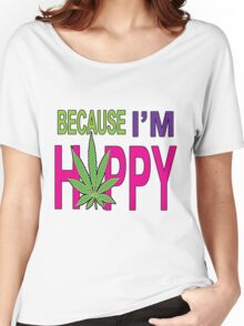 Happy Bud Women's Relaxed Fit T-Shirt