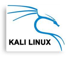 Kali Linux Stickers Canvas Print