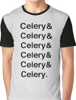 Celery & - as worn by Jamie Oliver Graphic T-Shirt