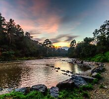 Morning on the Yarra by Adam Le Good