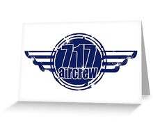 717 Aircrew Greeting Card