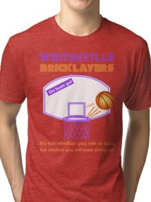 Whitesville Bricklayers Basketball Tri-blend T-Shirt