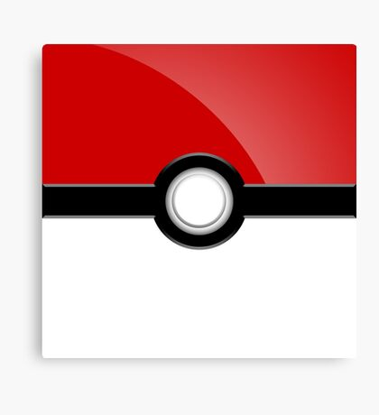 Poke´ Ball - Red Canvas Print