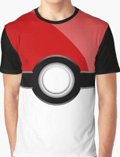 Poke´ Ball - Red Graphic T-Shirt