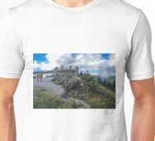 Mount Mitchell summit in the Smokies, North Carolina. Unisex T-Shirt