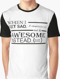AWESOME INSTEAD Graphic T-Shirt