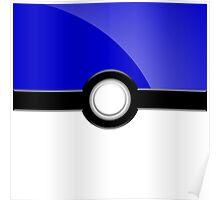 Poke´ Ball - Blue Poster