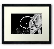 Full Moon Shot Framed Print