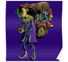 MAJORA'S MASK: A SUPER HISTORY LESSON (HAPPY MASK SALESMAN) Poster