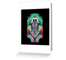 Leon Russell Upside-Down Art by L. R. Emerson II Greeting Card