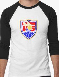 US Quidditch - World Cup 2014 Men's Baseball ¾ T-Shirt