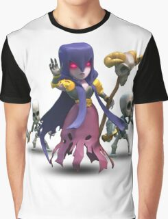 Clash Royale - Clash of Clans - Witch Graphic T-Shirt