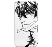 The Breaker, Chun-Woo Han, Melachony iPhone Case/Skin