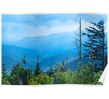 The Great Smoky Mountains, North Carolina. Poster