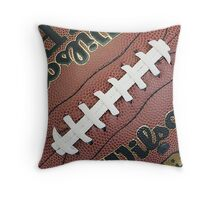 MAN CAVE THROW PILLOW SERIES  - FOOTBALL Throw Pillow