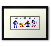 Bros. in Arms Framed Print
