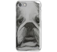 British Bulldog Illustration  iPhone Case/Skin