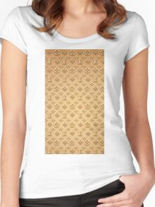 LOUIS VUITTON LIMITED Women's Fitted Scoop T-Shirt